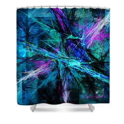 Shower Curtain featuring the photograph Tangled Web by Sylvia Thornton