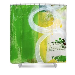 Tango- Abstract Painting Shower Curtain