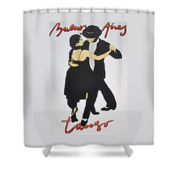 Tango In Buenos Aires Shower Curtain