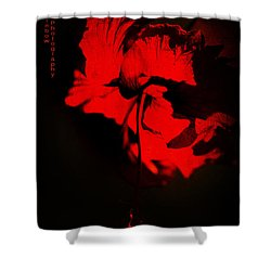Tango Of Passion For You Shower Curtain by Jenny Rainbow