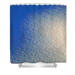 Shower Curtain featuring the photograph Tao Of Snow by Mark Greenberg
