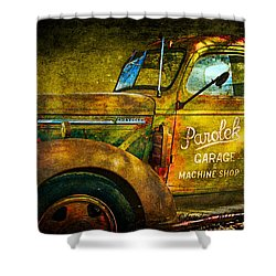 Taos Chevy II Shower Curtain