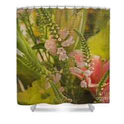 Shower Curtain featuring the photograph Tapestry by Arlene Carmel