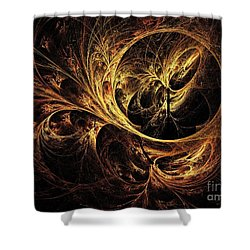 Tapestry Shower Curtain by Elizabeth McTaggart