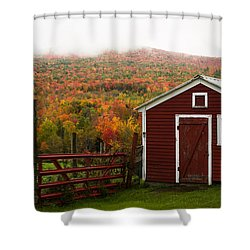 Tapestry Of Fall Colors Shower Curtain by Jeff Folger