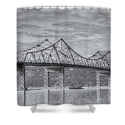 Tappan Zee Bridge Iv Shower Curtain