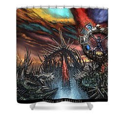 Tapped Into Obscurity  Shower Curtain