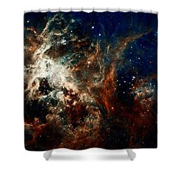 Tarantula Nebula Shower Curtain by Amanda Struz