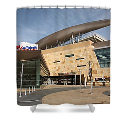 Target Field - Minnesota Twins Shower Curtain by Frank Romeo