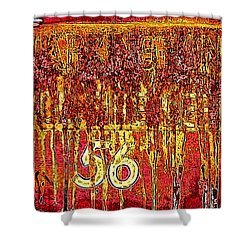 Tarkington Vol Fire Dept 56 Shower Curtain