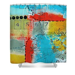 Tarot Art Abstract Shower Curtain by Corporate Art Task Force