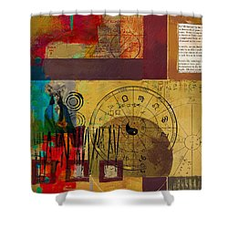 Tarot Card Abstract 003 Shower Curtain by Corporate Art Task Force
