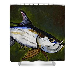 Tarpon Fish Shower Curtain