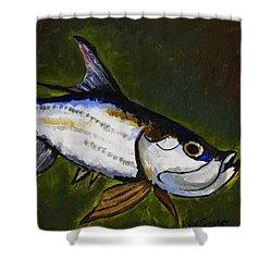 Tarpon Fish Shower Curtain
