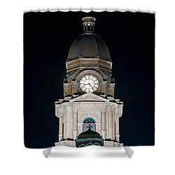Tarrant County Courthouse V2 020815 Shower Curtain