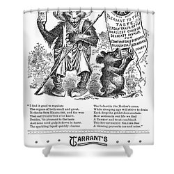 Tarrants Seltzer Aperient Shower Curtain by Granger