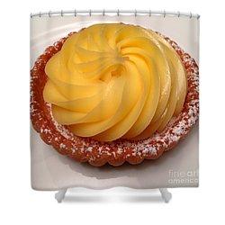 Tarte Citron Dessert Shower Curtain