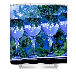 Take A Drink Of Nature Shower Curtain by Rita Mueller