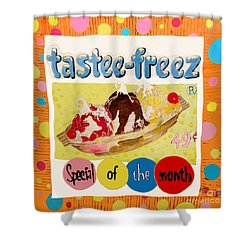 Tastee Freez Shower Curtain