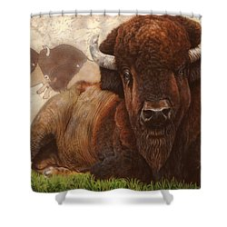 Tatanka Shower Curtain