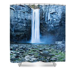 Taughannock Falls In Spring Shower Curtain