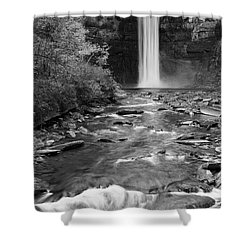 Taughannock Monochrome I Shower Curtain