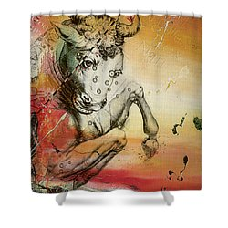 Taurus  Shower Curtain by Corporate Art Task Force