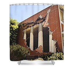 Taylor Hall Trompe L' Oiel Shower Curtain
