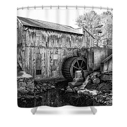 Taylor Sawmill - Derry New Hampshire Usa Shower Curtain by Erin Paul Donovan