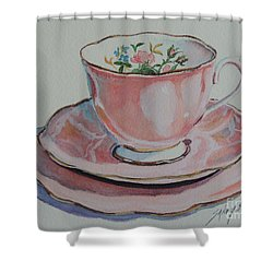 Tea For Me  Sold Shower Curtain