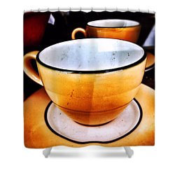 Tea For Two Shower Curtain by Mark David Gerson