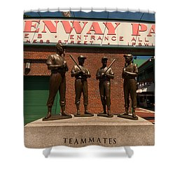 Teammates Shower Curtain by Paul Mangold