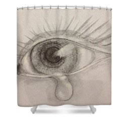 Tear Shower Curtain