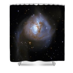 Tear Drop Galaxy Shower Curtain by Jennifer Rondinelli Reilly - Fine Art Photography