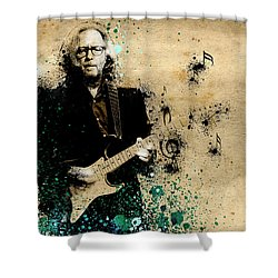 Tears In Heaven Shower Curtain by Bekim Art