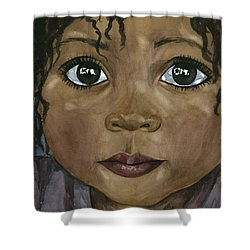 Ebony's Tears Shower Curtain