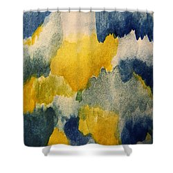 Tears Of Joy Shower Curtain by Andrea Anderegg