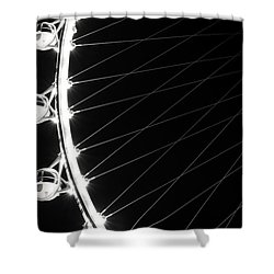 Tears On My Cheek Shower Curtain