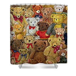 Ted Spread Shower Curtain
