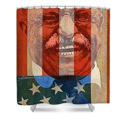 Teddy Roosevelt Shower Curtain by John D Benson