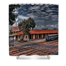Shower Curtain featuring the photograph Tel Aviv To Jerusalem by Ron Shoshani