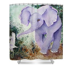 Tembo Tag Shower Curtain