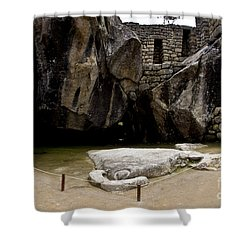 Temple Of The Condor Shower Curtain