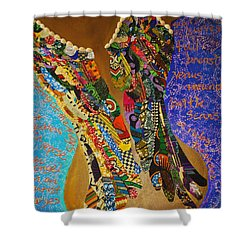 Temple Of The Goddess Eye Vol 1 Shower Curtain