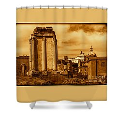 Temple Of Vesta Shower Curtain
