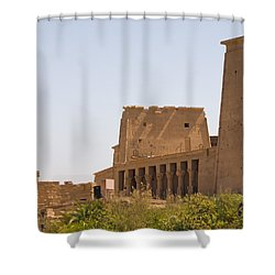Temple View Shower Curtain by James Gay