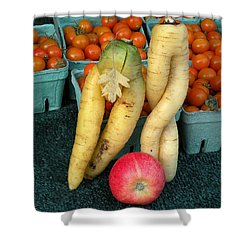 Temptation Shower Curtain by Brian Chase