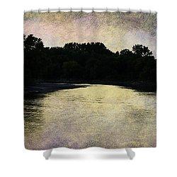 Tender Sundown Shower Curtain by Judy Hall-Folde