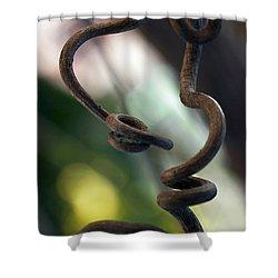 Tendrilisms Shower Curtain