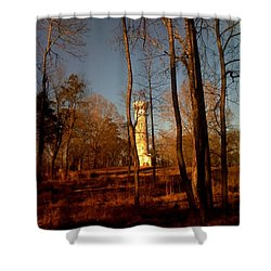 Tennessee Battle Fort Shower Curtain